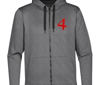 4th Musketeer Performance Fleece Gray